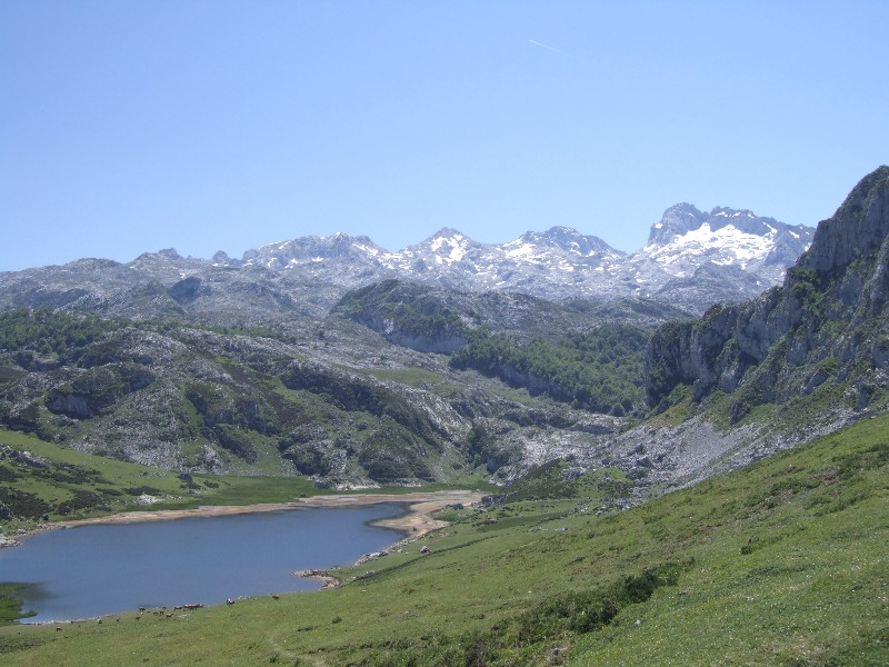 Covadonga Lakes in Summer