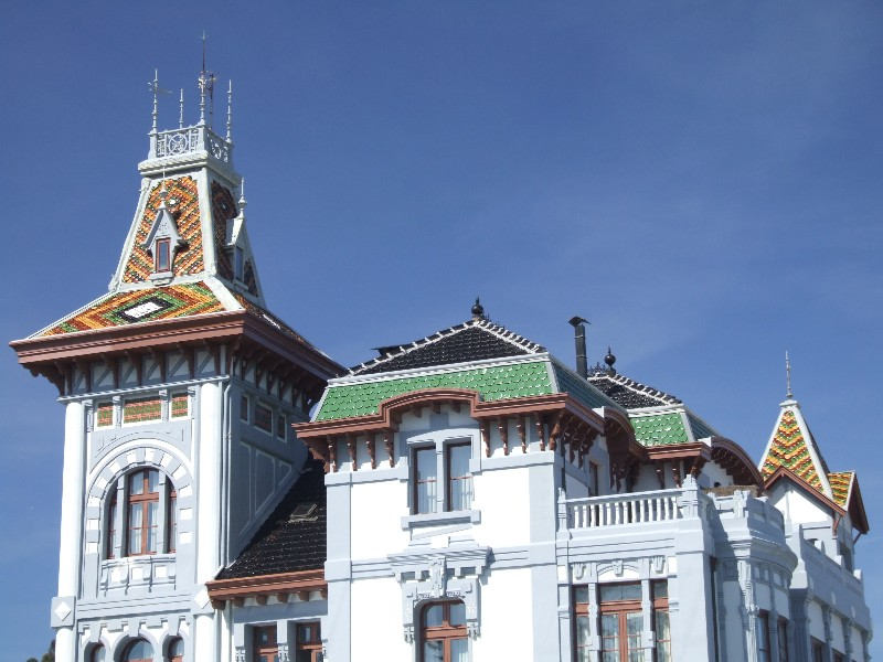 Ribadesella rooftops